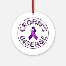 CROHN'S DISEASE Round Ornament
