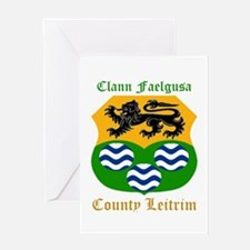 Clann Faelgusa - County Leitrim Greeting Cards