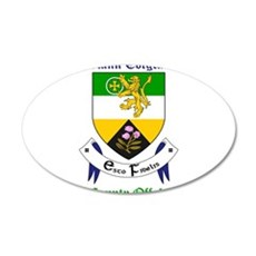 Clann Colgcan - County Offaly Wall Decal