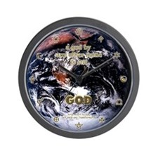 One God Wall Clock