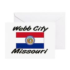 Webb City Missouri Greeting Cards (Pk of 10)