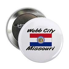 Webb City Missouri Button