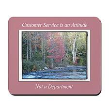 Customer Service Fall Mousepad