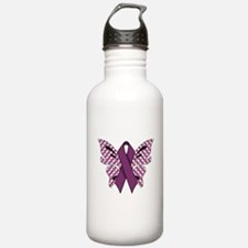 PURPLE RIBBON Water Bottle