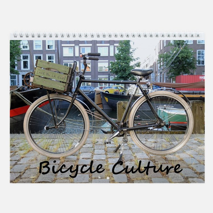 Bicycle Culture Wall Calendar