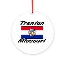 Trenton Missouri Ornament (Round)
