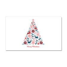 Christmas tree Car Magnet 20 x 12