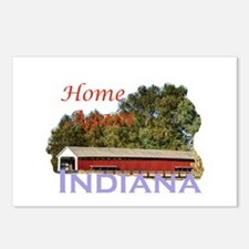 Home Again Indiana Postcards (Package of 8)