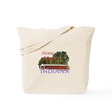 Home Again Indiana Tote Bag