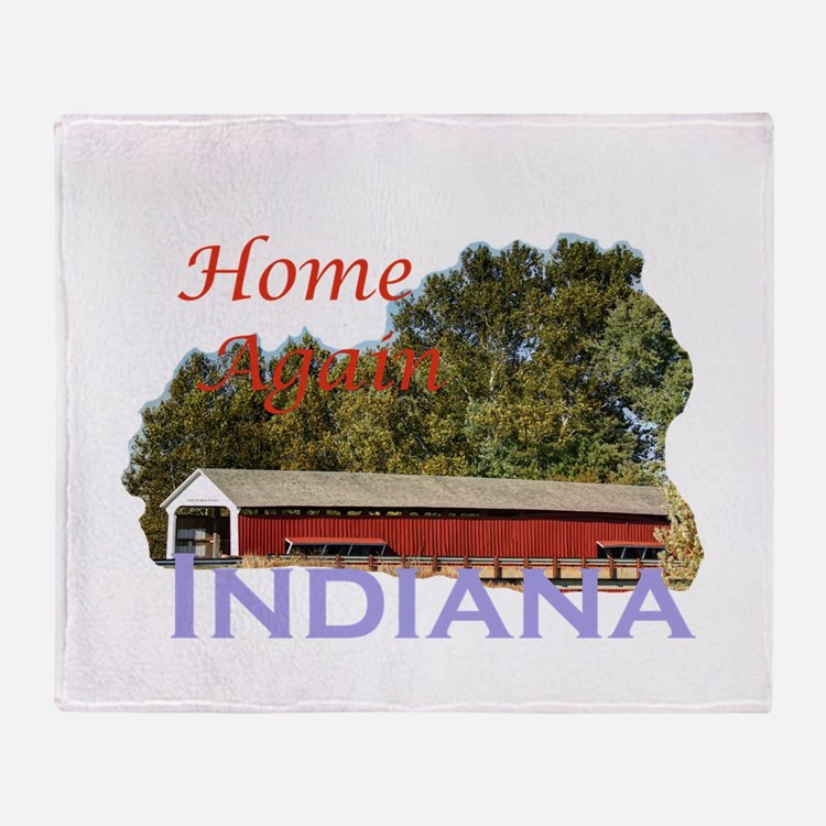 Home Again Indiana Throw Blanket