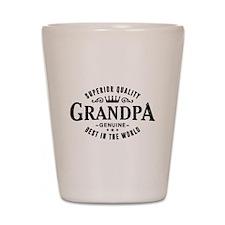 Superior Quality Grandpa Vintage Shot Glass