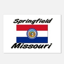 Springfield Missouri Postcards (Package of 8)
