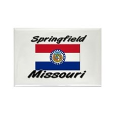 Springfield Missouri Rectangle Magnet