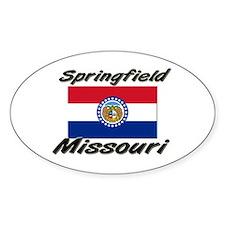 Springfield Missouri Oval Decal