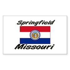 Springfield Missouri Rectangle Decal