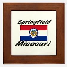Springfield Missouri Framed Tile