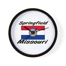 Springfield Missouri Wall Clock