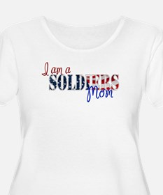 I am Soldiers Mom Plus Size T-Shirt