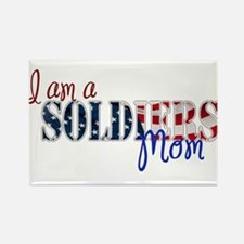 I am Soldiers Mom Magnets