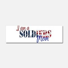 I am Soldiers Mom Car Magnet 10 x 3