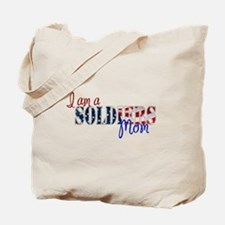 I am Soldiers Mom Tote Bag