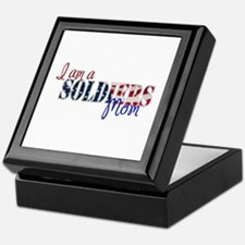 I am Soldiers Mom Keepsake Box