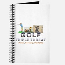 Golf Triple Threat Journal