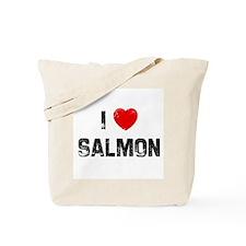 I * Salmon Tote Bag