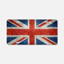 UK British Union Jack flag  Aluminum License Plate