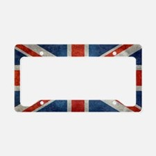 UK British Union Jack flag re License Plate Holder