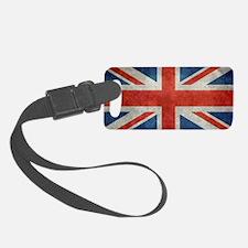 UK British Union Jack flag retro Luggage Tag