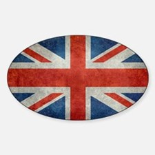 UK British Union Jack flag retro st Decal