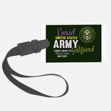 Proud Army Girlfriend Seal Luggage Tag