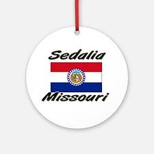 Sedalia Missouri Ornament (Round)