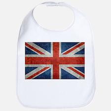 UK British Union Jack flag retro style 3:5 Bib