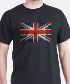 UK British Union Jack flag retro style 3:5 T-Shirt