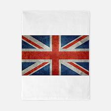 UK British Union Jack flag retro style Twin Duvet