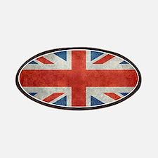 UK British Union Jack flag retro style 3:5 Patch
