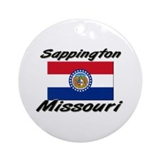 Sappington Missouri Ornament (Round)