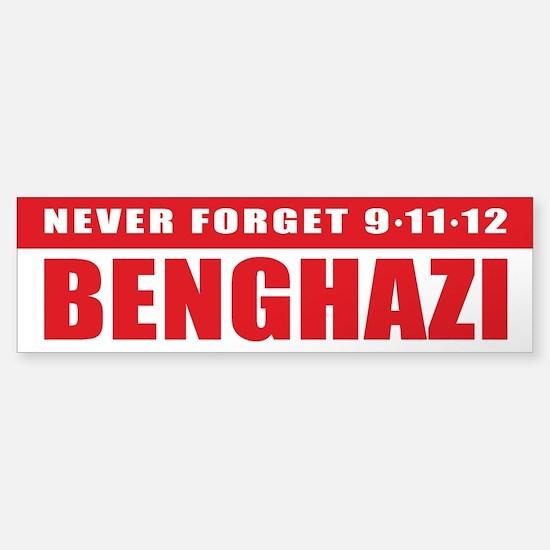 Benghazi Bumper Bumper Bumper Sticker