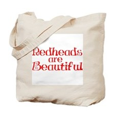 Redheads Are Beautiful Tote Bag
