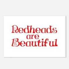 Redheads Are Beautiful Postcards (Package of 8)