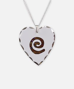 Being here now spiral Necklace