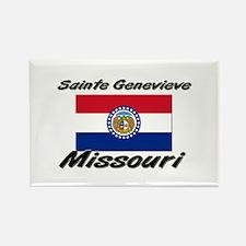 Sainte Genevieve Missouri Rectangle Magnet