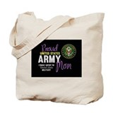Army mom Canvas Totes