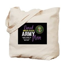 Army Mom Pink Seal Tote Bag