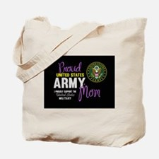 Army Mom Pink Seal Tote Bag
