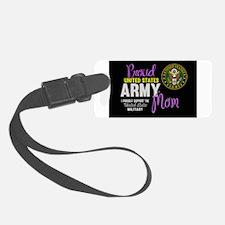 Army Mom Pink Seal Luggage Tag