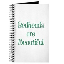 Redheads Are Beautiful Journal