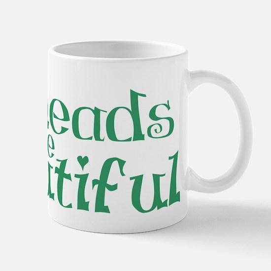 Redheads Are Beautiful Mug